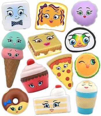 New Dimensions Emzo's Kawaii Squeezies Series 2 Food Novelty