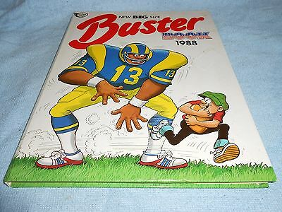 Vintage Annual - THE BUSTER BOOK 1988 - Fleetway Annuals