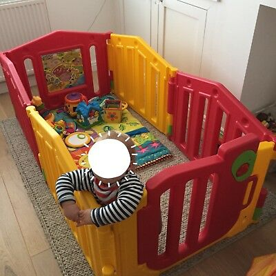 Baby Toddler Kids Playpen 4 or 6 panel - Excellent Condition
