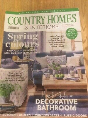 Country Homes And Interiors Magazine March 2017 - VGC