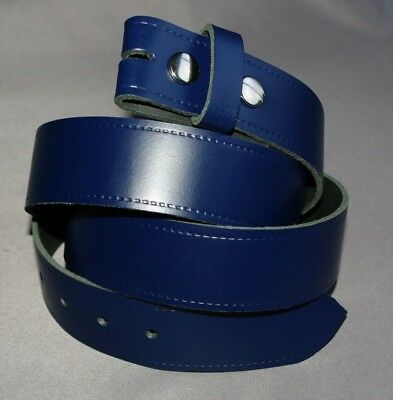 Portsmouth football club leather snap fit belt