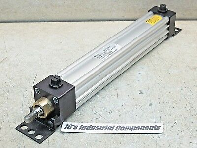 """Parker,   1 1/2""""  Bore  X  10""""  Stroke,  Pneumatic Cylinder,  Series 4Ma"""
