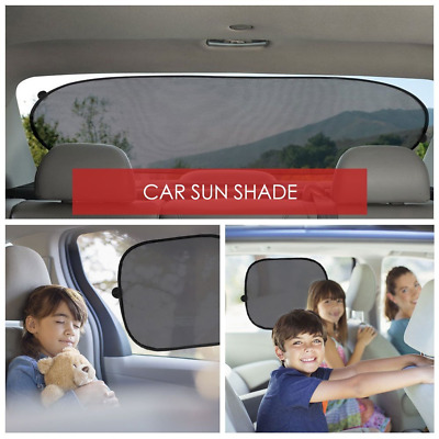 Car Uv Sun Shade Window Side And Rear Pack Of 3 Baby Child Sunshade Protector
