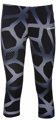 Arena - W Perf Spider 3/4 Tights - Black/white Size Xs (000197-501) - Clearance