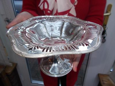 Elegant Elkington Silver Plated Liberty Cake Fruit Stand Tazza Table Centrepiece