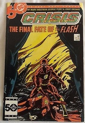 Crisis on infinity earth 8 death of the flash