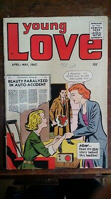 Young Love romance comic April-May 1960