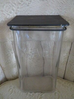 Early 20th C Holton's Chicago Antique Glass Visible Mailbox