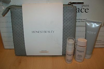 Honest Beauty 4 piece Try Me Kit for dry skin