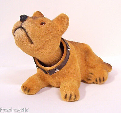 Classic Vintage style Terrier Dog Bobble Nodder Head Bobblehead Puppy Figurine