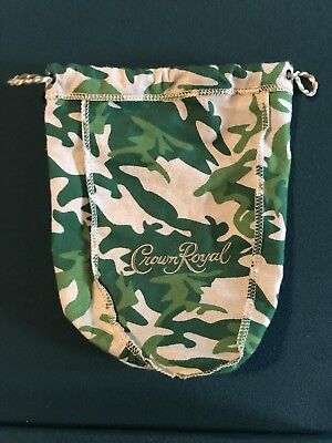 Crown Royal Camo Camouflage Limited Edition Green