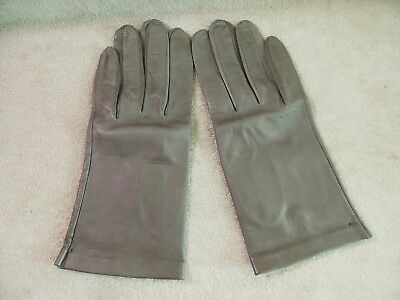 Women's Vintage Italian Leather Gloves Aprox Size 7