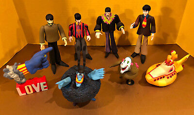 McFarlane The Beatles Yellow Submarine Action Figures