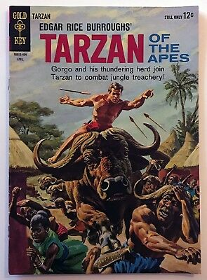 TARZAN OF THE APES #141 (April 1964) Gold Key Jungle Comic Russ Manning Art