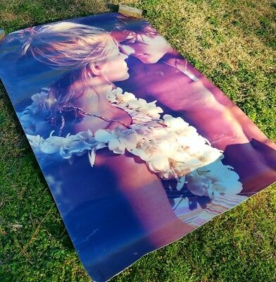 Abercrombie & Fitch Store Display Poster Couple RARE Canvas