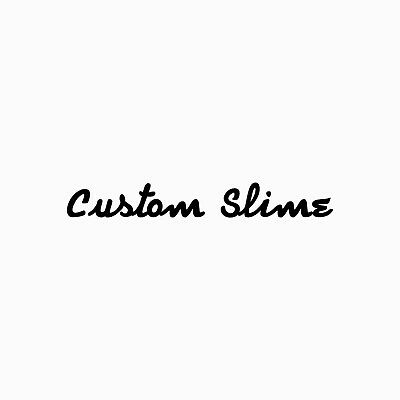 Custom Slime for Sale! (250g!) (Choose a colour, scent and other!)
