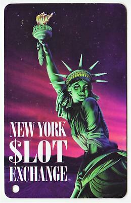 NEW YORK NEW YORK casino**$lot Exchange*UN-USED never swiped*Slot/Players card