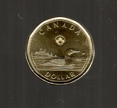 Canada 2019 Loonie Design In Unc Cond. ( From Roll )