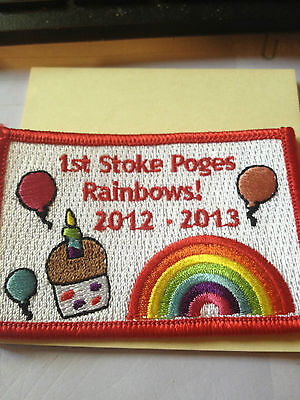 Girl Guides / Scouts English Rainbows 2012-2013
