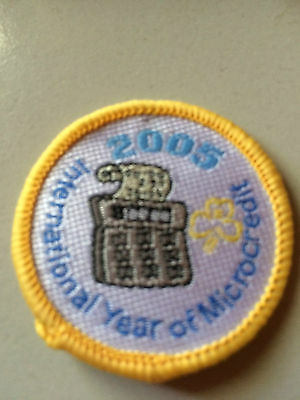 Girl Guides / Scouts 2005 Year of the microcredit
