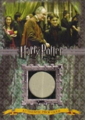 Harry Potter and the Half-Blood Prince HBP prop card P6 Slughorn's Drapes #/330