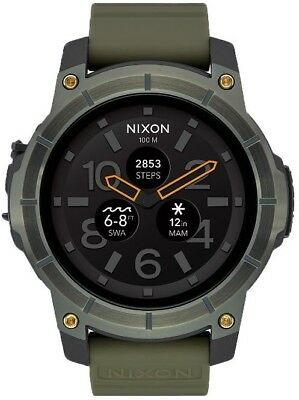 Nixon Watch The Mission Metallic Surplus Aust Seller Andriodwear Iphone App