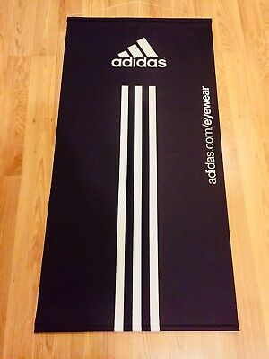 """Adidas Classic large Display Banner 4 Feet! Long X 23"""" wide cloth"""