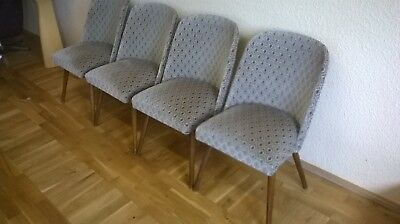 Cocktailsessel Clubsessel  DDR Loungesessel 4 Stück Stuhl Sessel
