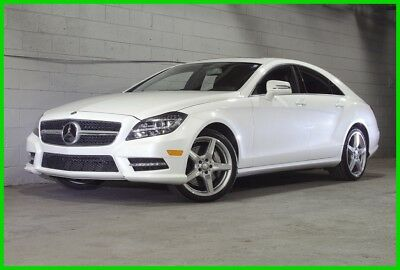 """2014 Mercedes-Benz CLS-Class CLS 550 Twin Turbo V8 - Only 43k Miles 2014 CLS550 - Diamond White, 19"""" AMG Wheels, LED's, Brand New Tires - Clean!"""