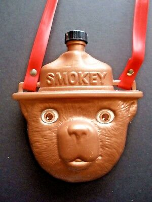 """Vintage Smokey Bear Canteen, Excellent!!   """"Prevent Forest Fires"""""""