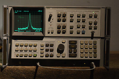 HP Agilent 8568A SPECTRUM ANALYZER 100Hz - 1.5 GHz WORKING no display, 1 cable