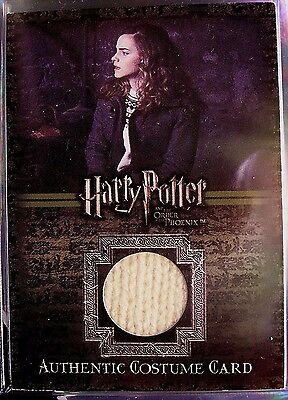 Harry Potter-Emma Watson-Hermione Granger-OOTP-Authentic-Costume Card-C2
