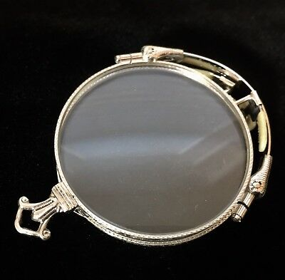 ANTIQUE 12K GOLD Filled  AO PINCE Nez Folding SPECTACLES w/ Case
