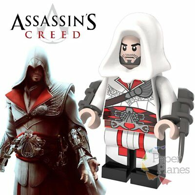 Ezio Auditore da Firenze Minifigur Passt Lego Toy Assassin's Creed II P947