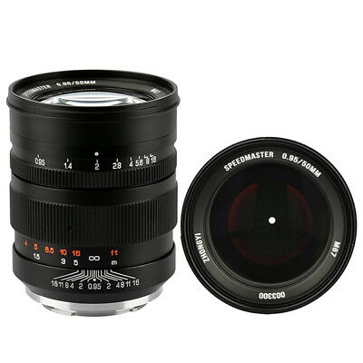 Zhongyi Mitakon Speedmaster 50mm f/0.95 for Sony FE Stock in EU Nuevo