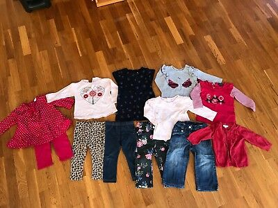 Bulk Bundle Girls Clothes Size 6-12 months, Seed, Country Road, Purebaby, Etc