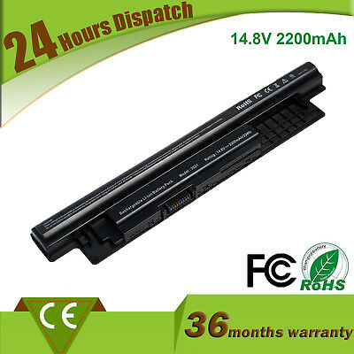 14.8V 40WH XCMRD Battery For Dell Inspiron 15R-5521 15 3521 14 N3421 2200mAh