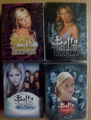 Buffy The Vampire Slayer x 4 base sets trading cards