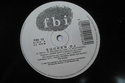 "DIMPLES D - SUCKER DJ 12"" Vinyl. 1990 Hip Hop / Dance / Rap"
