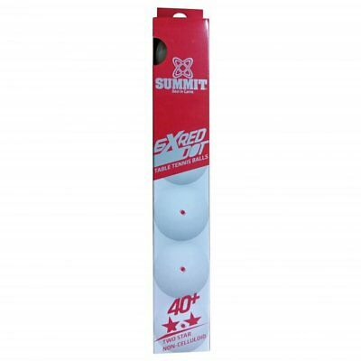 New  6 * Summit 2 Star Red Dot Table Tennis  Ball