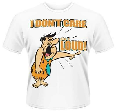 Fred Flintstone Play It Loud Brand New Officially Licensed T-Shirt Xl