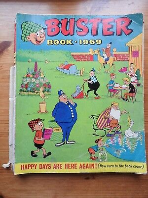 The Buster Book 1969 PB