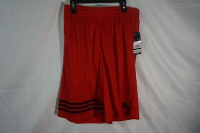 Childrens Youth Adidas Red Shorts, athletic/basketball, NEW, XL 18/20, msrp $25