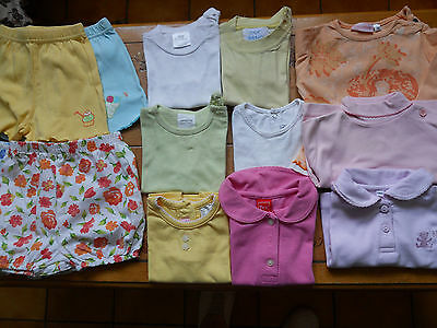 lot de 13 vêtements 6 mois fille