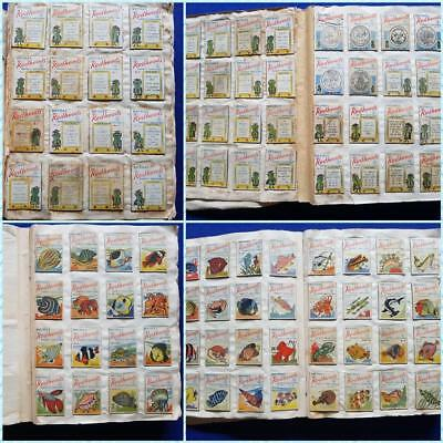 Vintage Redheads Matchbox Tops Huge Collection in Notebook Complete Sets 557card