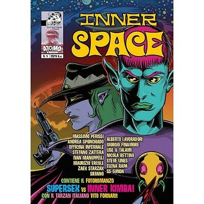Inner Space N 4 Maurizio Hercules, Basil Wolverton, Mort Todd In Your Face Comix