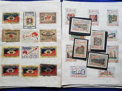 Vintage Redheads Matchbox Tops Huge Collection in Notebook Complete Sets 120card