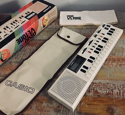 Vintage Casio Vl-Tone Vl1 Electronic Keyboard Computer Synthesiser Calculator