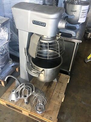 Hobart 30qt Dough Mixer D300 (SS Bowl, Hook, Whip and Paddle)