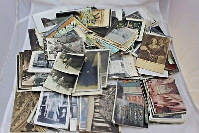 Large Job Lot Antique Vintage Postcards UK Worldwide 3.5KG Weight - 250